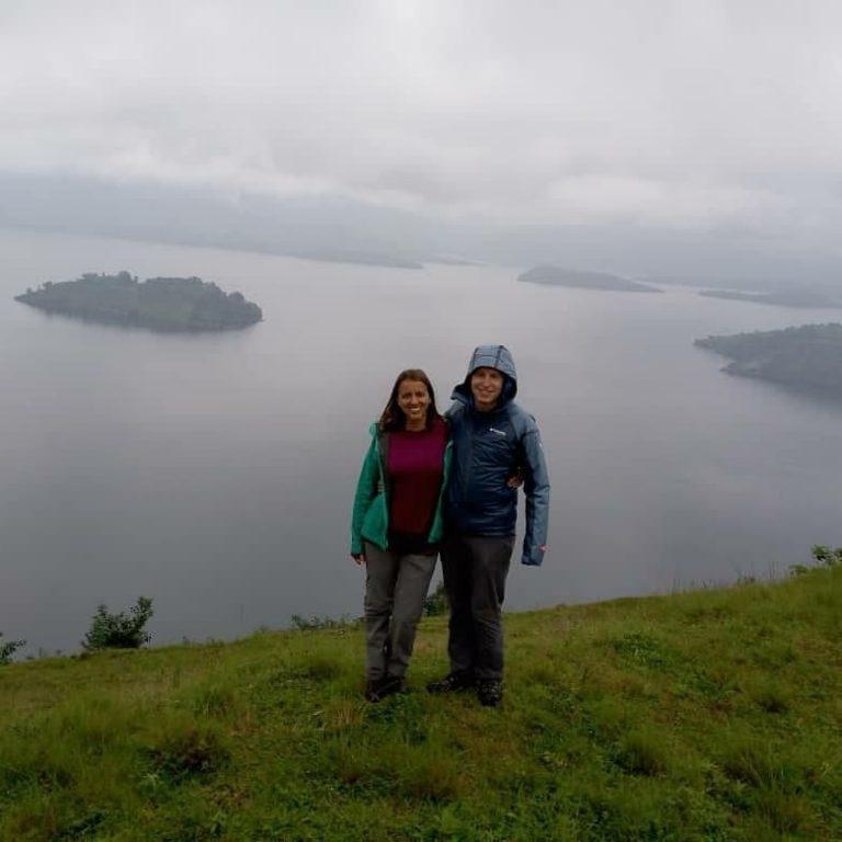 Twin Lakes in Rwanda
