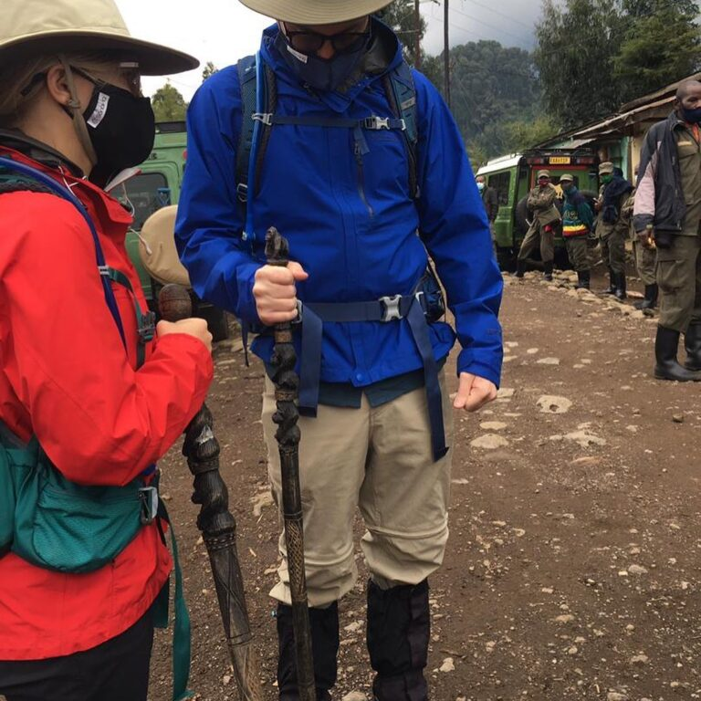 What should I wear to gorilla trekking in Rwanda